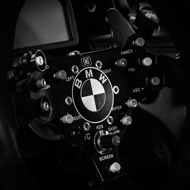 BMW Z4 GT3 Steering Wheel and Controls